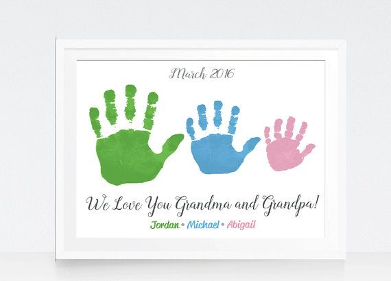15 Creative Handprint And Footprint Art Gifts And