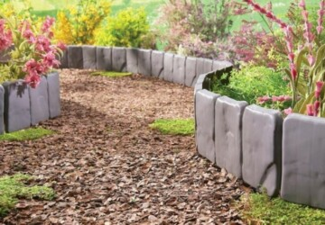 13 Great DIY Garden Edging Ideas to Set Your Garden - diy garden projects, DIY Garden Plant Support, DIY Garden Ideas, DIY Garden Edging Ideas, DIY Garden Edging, diy garden