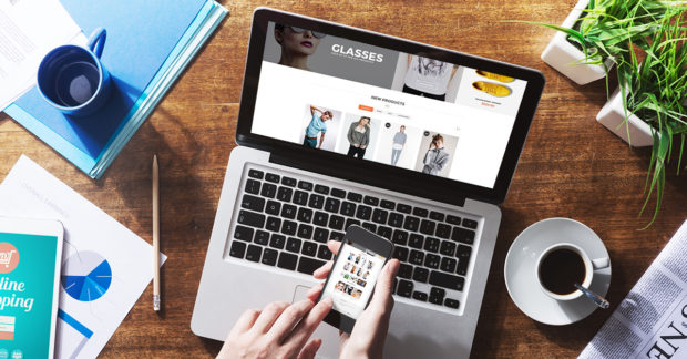 Fashion Industry reform by E-commerce - shopping cart, fashion, e-commerce