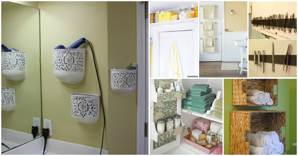 Great Diy Bathroom Storage Hacks And Organization Solutions Part  Style Motivation