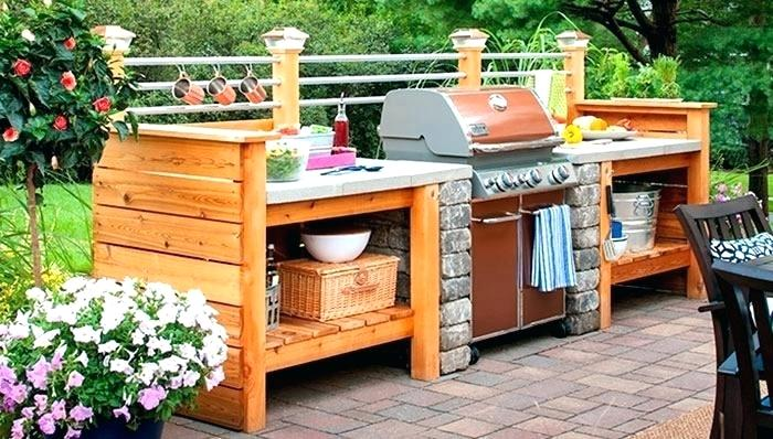 Diy Outdoor Kitchens And Grilling Stations Style Motivation
