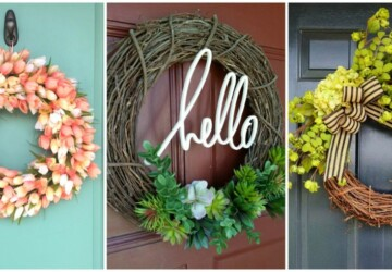 Welcome Summer: 18 Creative and Easy DIY Wreath Ideas - DIY Wreaths Ideas, diy wreath, diy summer wreath, diy summer projects