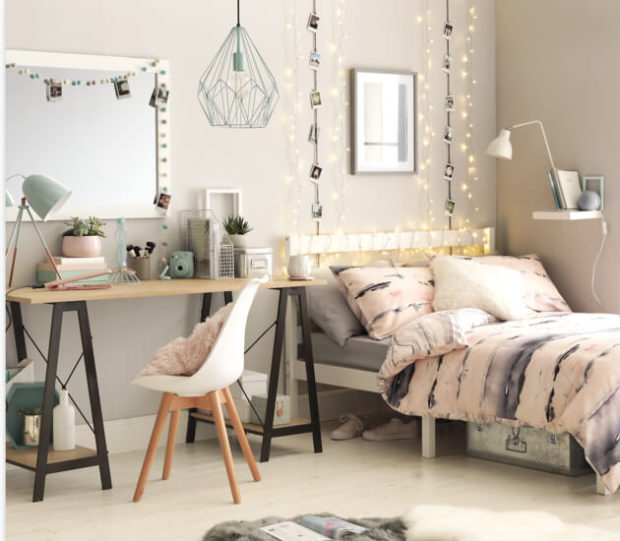 7 Teenage Girl Bedroom Design Ideas Your Daughter Will Love - work space, walls, teenage room, Storage, make up area, home decor, girl bedroom, bedding