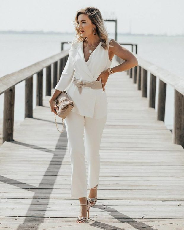 All White Outfit Ideas To Wear For Summer 2018