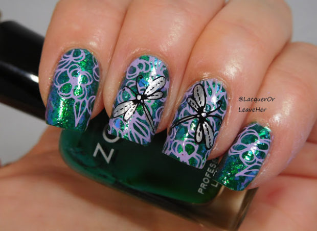 14 Fabulously Floral Nail Art Designs for Summer (Part 2)