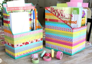 15 Cereal Box Crafts - DIY Storage Ideas, DIY Organization Ideas, crafts, Cereal Box Crafts, Cereal Box