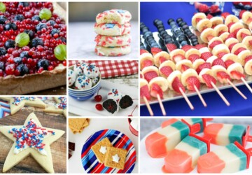 17 Tasty and Easy Patriotic Treats - Patriotic Treats, DIY Patriotic, 4th of July recipes, 4th of July desserts, 4th of July