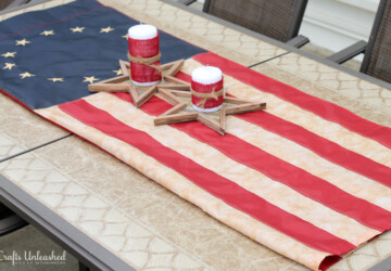 16 DIY Rustic Wooden Fourth Of July Decor Ideas - diy wooden projects, diy wooden decorations, DIY Rustic Wooden Fourth Of July Decor Ideas, DIY Rustic Wooden decor, DIY Rustic Projects, diy 4th of July decorations