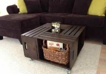 15 Clever DIY Wood Crate Projects - Wood Crate Projects, diy wooden projects, DIY Wood Crate Projects, DIY Wood Crate, diy wood