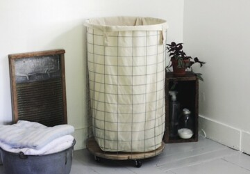 Cool DIY Laundry Hamper Ideas - DIY Storage Solutions, diy storage baskets, diy organization projects, diy organization hacks, DIY Laundry Hamper