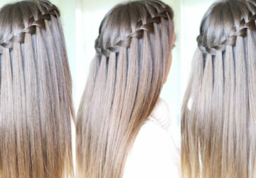 15 Amazing Waterfall Braid Tutorials - Waterfall Braid Tutorials, Waterfall Braid Tutorial, Waterfall Braid, Romantic Side Braid, braid Tutorials, Braid Tutorial, Boho Braid
