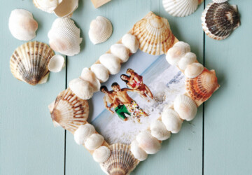 22  Seashell Crafts So Your Summer Memories Will Last a Lifetime - Seashell Crafts, seashell, DIY Seashell ideas, decorating with seashells, beach style design