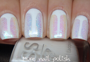 Best White Nail Designs for Summer (Part 2) - white nails, white nail art, summer nails, nail art ideas