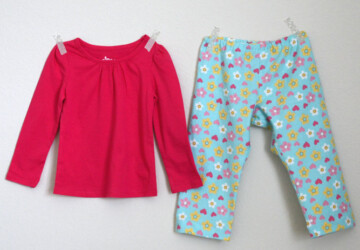 15 Free Kids Pyjama and Sewing Patterns - Sewing Projects, Kids Pyjama, kids, DIY Sewing Projects, diy kids crafts, diy gifts for kids