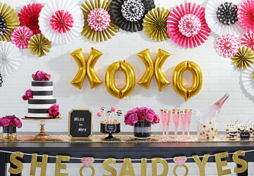 25 Bridal Shower Ideas - pink bridal shower, Bridal Shower Tablescape Ideas, bridal shower ideas, bridal shower