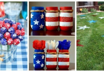 15 Best DIY 4th of July Party Ideas - 4th of July recipes, 4th of July party, 4th of July diy decor, 4th of July desserts, 4th of July
