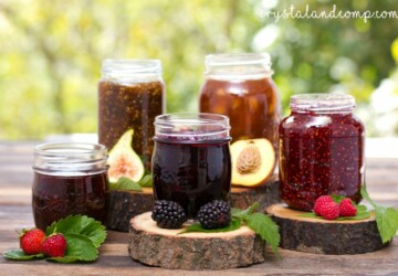 16 Delicious Homemade Fruit Jams - jam, Homemade Fruit Jams, fruit recipes, Fruit Jams