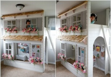 15 DIY  Cool Indoor Playhouse Ideas for Kids - Playhouse Ideas for Kids, Indoor Playhouse Ideas for Kids, Indoor Playhouse