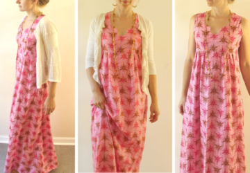 17 Amazing Free Maxi Dress Patterns and Sewing Tutorials - Maxi Dresses, Maxi Dress Patterns, maxi dress outfit ideas, Floral Maxi Dress, diy Maxi Dress