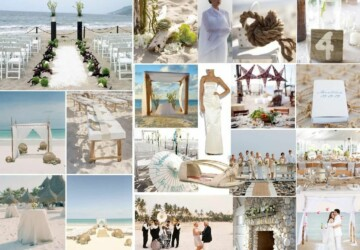 15 Seaside Wedding Ideas - wedding decorations, Seaside Wedding Ideas, Seaside Ideas, floral wedding decor