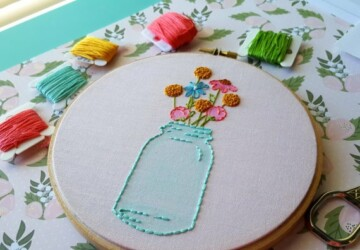 Best Projects for Embroidery Beginners (Part 1) - Embroidery Beginners, Embroidery, diy, crafts