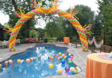 10 Amazing Ideas For Summer Birthday Party Decorations - summer, party, decorate, Birthday