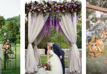 Ideas for LUXURIANT FLORAL  Wedding Ceremony Arches - Wedding Decor Ideas, Wedding Ceremony Arches, Wedding Arches