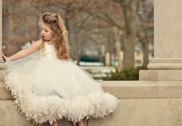 22 Flower Girl Dress Ideas for Summer Wedding - wedding ideas, Flower Girl Dress Ideas for Summer Wedding, Flower Girl Dress Ideas, Flower Girl Dress