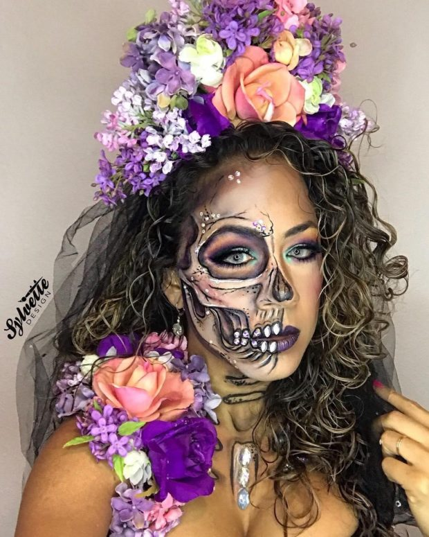 Sugar Skull Makeup: A Simple Guide for Day of The Dead
