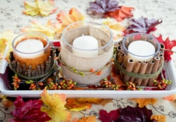 Beautiful Fall Centerpieces You Can Make Yourself - Fall Centerpiece Ideas, fall centerpiece, diy fall decor, DIY Fall Centerpiece Ideas, DIY Fall Centerpiece, diy centerpiece