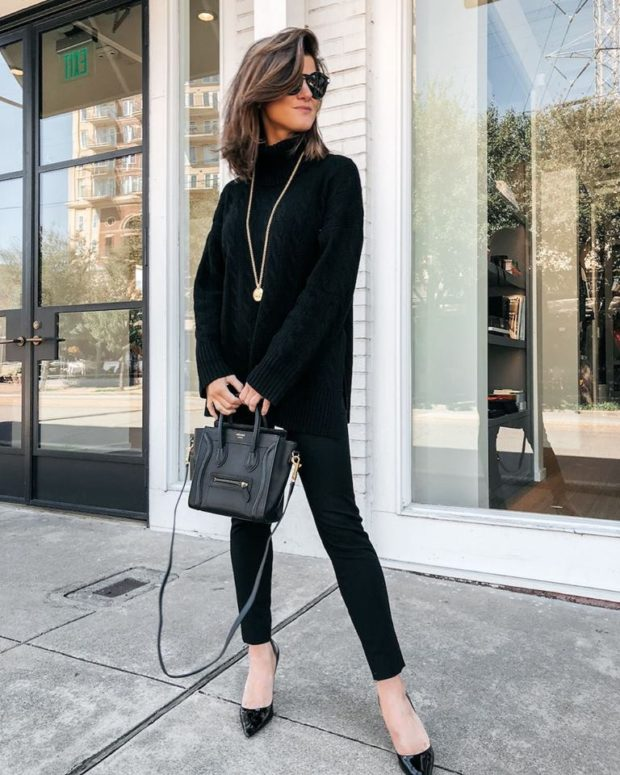 All Black Fall Outfits That are Anything But Basic