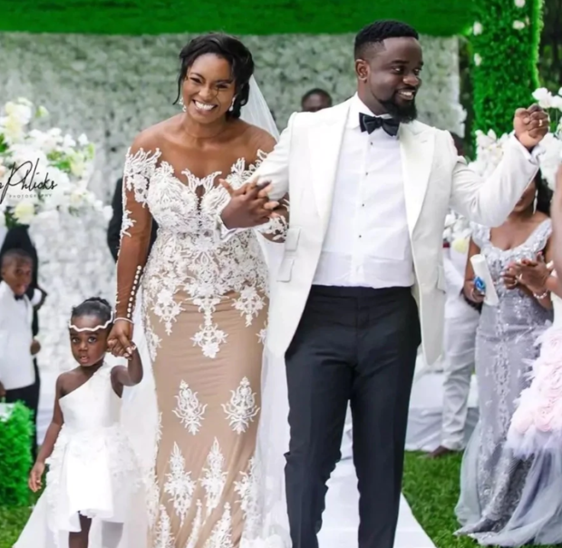 Ghanaian Celebrities Who Tied the Knot in 2018 - weedings, sarkodie, movie director, john dumelo, ghana, actor