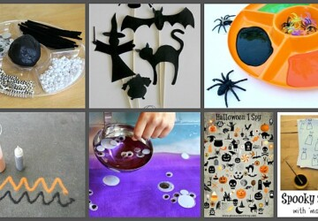 15 Fun Halloween Activities for Kids - halloween kids crafts, Halloween kids costumes, Halloween Activities for Kids, Halloween Activities