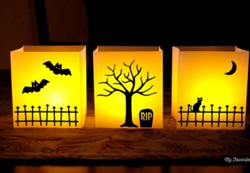 17 Cool DIY Halloween Lanterns And Luminaries - DIY Halloween Lanterns And Luminaries, DIY Halloween Lanterns, diy Halloween decorations, DIY Halloween Crafts, diy Halloween