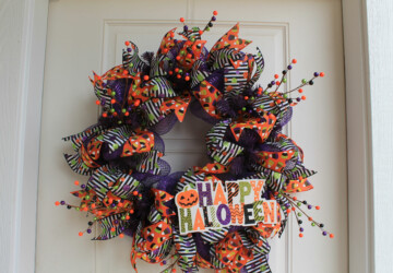 Best DIY Halloween Wreaths - DIY Halloween Wreaths, diy Halloween wreath, DIY Halloween Door Decor, diy Halloween decorations