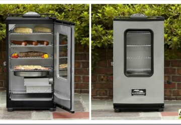 Season Your Electric Smoker in 3 Steps - woodchips, smoker, seasoning, preheat, electric smoker