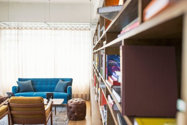 4 Interesting Ideas for Book Lovers' Home Décor - Living room, library, home decor, bookracks, booklover, book lover