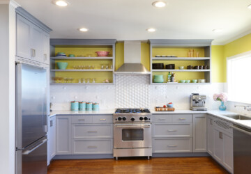 Best Colors to Use for Kitchen Cabinets - kitchen ideas, Colors to Use for Kitchen Cabinets, colors, black kitchen