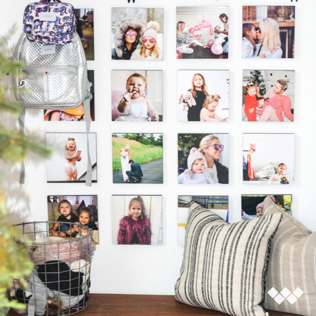How to Decorate Your Office with Wallpics Photo Tiles