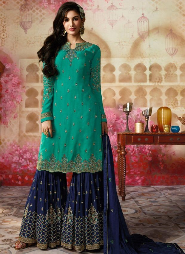 15 Mesmerizing Sharara Suits For Your Indian Wedding