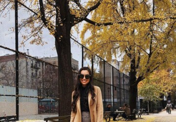 15 Stylish Looks Perfect for Cold Days - winter outfit ideas, winter fashion, outfit for cold weather, outfit for cold days, cold weather