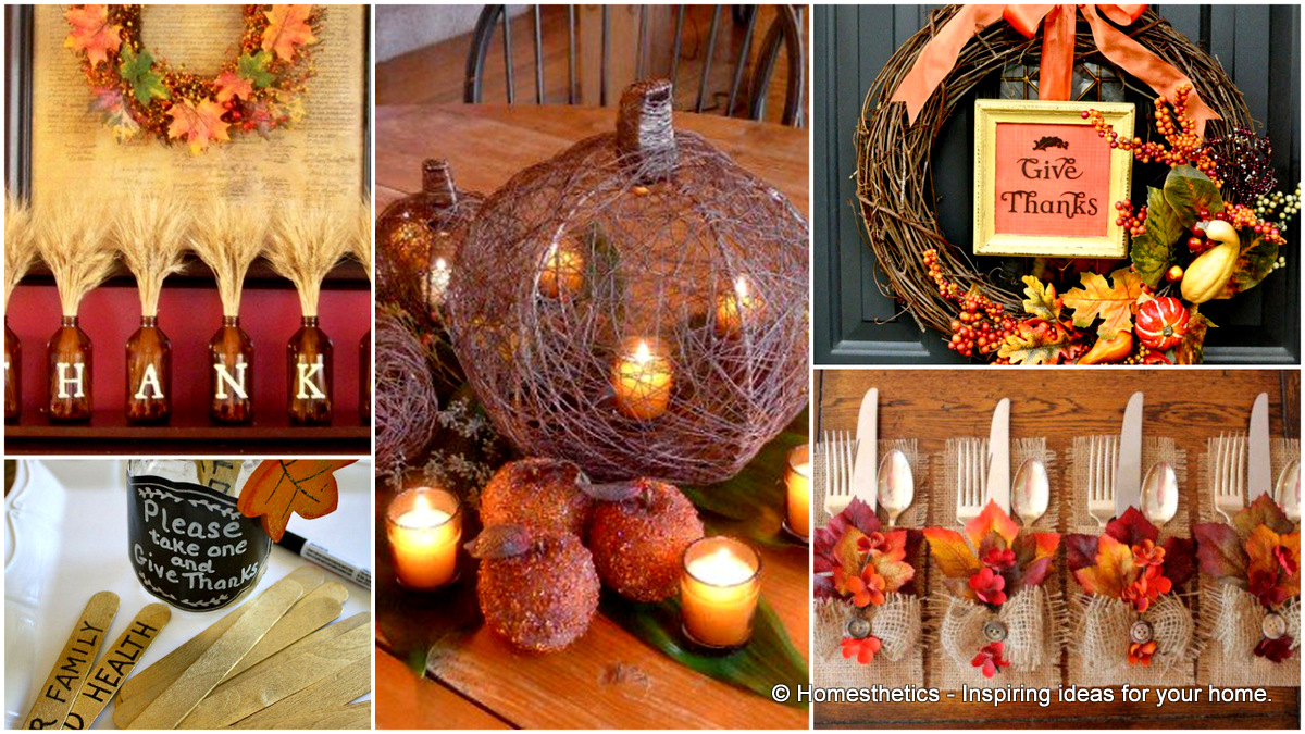 17 Diy Ideas For Easy Thanksgiving Decorating Part 2