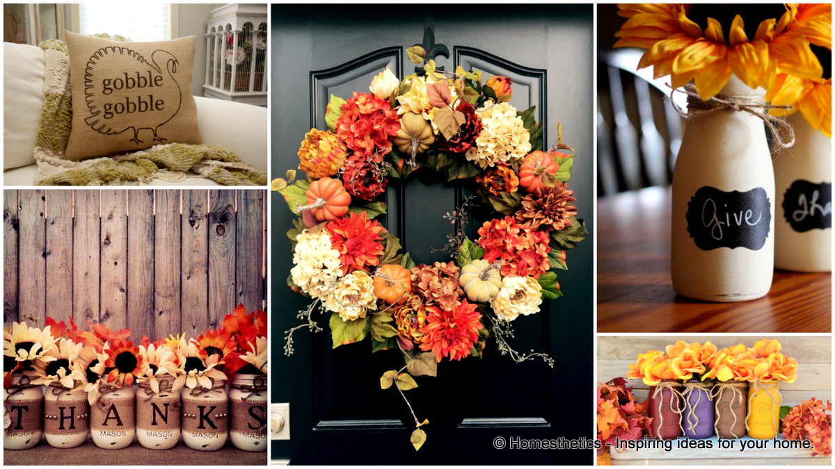 17 Diy Ideas For Easy Thanksgiving Decorating Part 1 Style Motivation