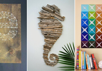 17 Unique DIY Wall Art Ideas - Wall Art Ideas, DIY Wall Art Ideas, DIY Wall Art Idea, diy wall art