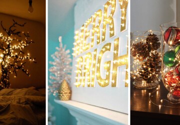 18 Beautiful DIY Christmas Lighting Decoration Ideas - Lighting Decoration Ideas, DIY Christmas Lighting Decoration Ideas, DIY Christmas Lighting Decoration, DIY Christmas Lighting, DIY Christmas Light, diy Christmas decorations, DIY Christmas Decoration Ideas, Diy Christmas