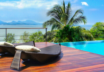 3 Ways to Achieve a Luxury Pool Look on a Budget - Timber pool decking, swimming pool designs, pool, mediterranean design, Luxury Pool Look
