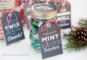 16 Christmas Mason Jar Gifts (Part 1) - DIY Christmas Gifts, Christmas Mason Jar Gifts, Christmas Mason Jar, Christmas Gifts in a Jar, Christmas Gifts