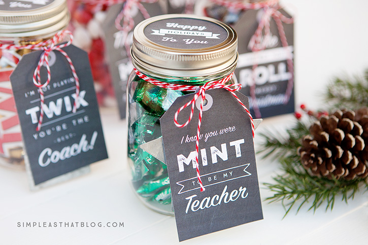 16 Christmas Mason Jar Gifts Part 1