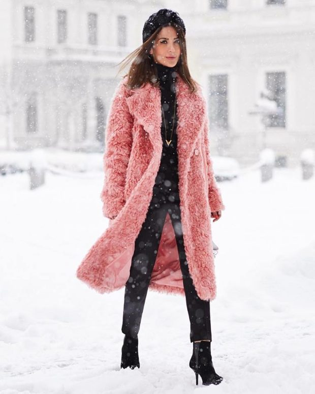 18 Stylish Ways To Wear A Teddy Coat This Winter