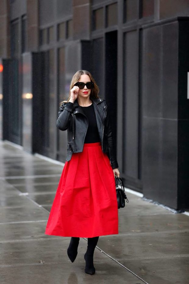 New Ways to Wear Your Midi Skirt This Winter